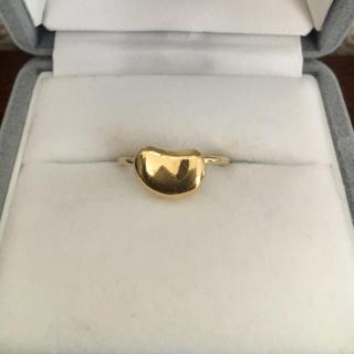 ティファニー(Tiffany & Co.)のティファニー ビーン リング K18YG 2.5g(リング(指輪))