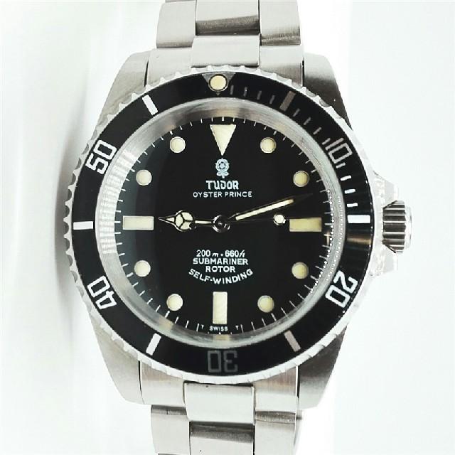 ロレックス偽物懐中 時計 | TUDOR チュードル ヴィンテージ サブマリーナ 小薔薇 アンティーク腕時計の通販 by ゆこ's shop|ラクマ