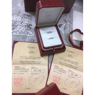 カルティエ(Cartier)の結婚   ペアリング  Cartier  プラチナ  18k(リング(指輪))