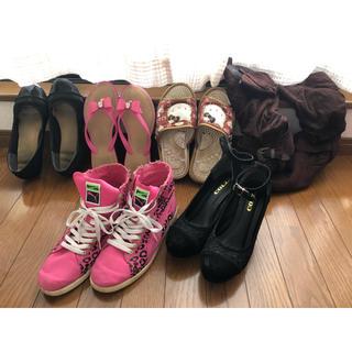 プーマ(PUMA)のまとめ売り 靴 キティ ミュール サンダル ブーツ 6つセット(サンダル)