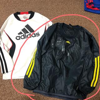 アディダス(adidas)のアディダス サッカー ウエア ピステ 長袖シャツ 2点セット 130cm 子供用(ウェア)