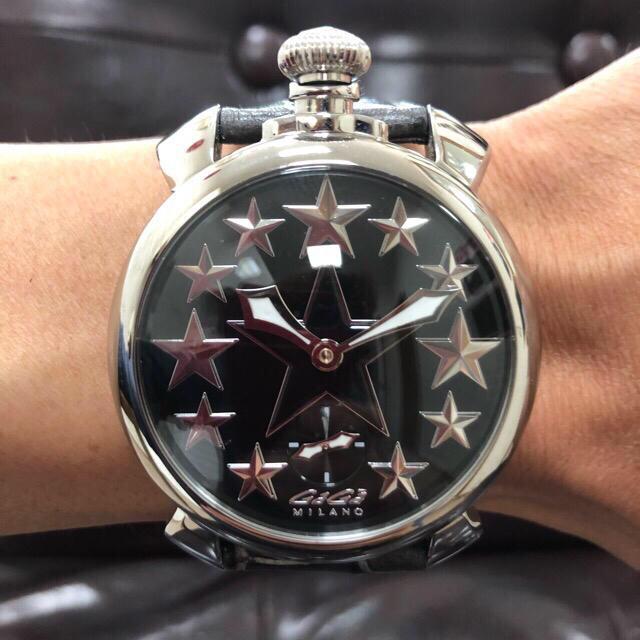 IWC偽物 時計 | GaGa MILANO - ガガミラノマヌアーレ48MM / 5010.STARS.01 国内正規 美品の通販 by GaGa premium  collection|ガガミラノならラクマ