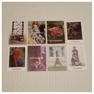 マリメッコ(marimekko)のマリメッコ ポストカード フライヤー 8枚(その他)