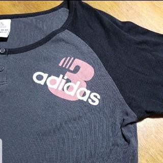 アディダス(adidas)のアディダス 七分袖 Tシャツ L(Tシャツ(長袖/七分))