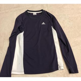 アディダス(adidas)のadidas レディース ロングティーシャツ(Tシャツ(長袖/七分))