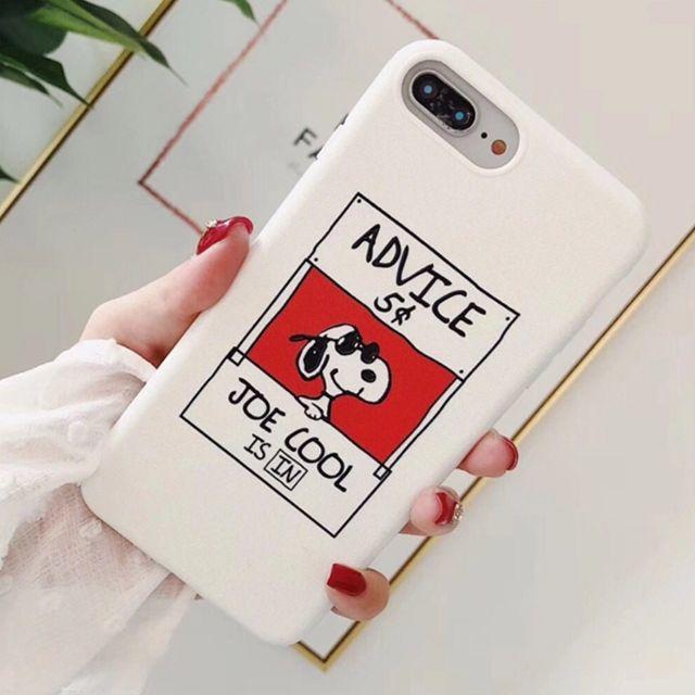 スヌーピー Advice White iPhoneケース SNOOPYの通販 by ぴょんす's shop|ラクマ