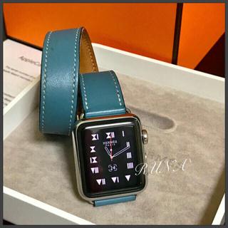 アップルウォッチ(Apple Watch)の新品 エルメス アップルウォッチ Apple Watch 38ミリ 本体のみ(腕時計(デジタル))