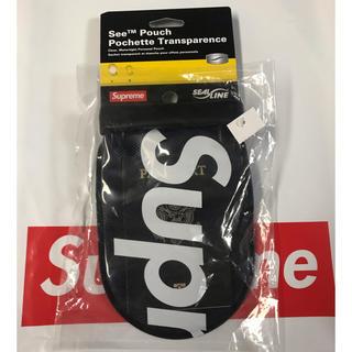 シュプリーム(Supreme)のSupreme SealLine See Pouch Large Black(コインケース/小銭入れ)