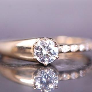 オーロラグラン(AURORA GRAN)のペルシア様専用 AURORA GRAN リング ダイヤ 0.207ct K18(リング(指輪))
