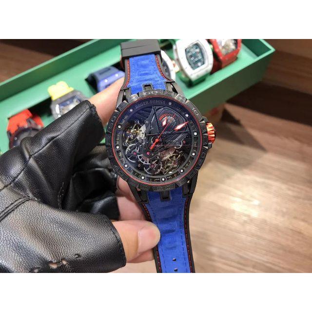 ロレックス デイトジャスト レディース 中古 / ROGER DUBUIS - メンズ ROGER DUBUIS   ロジェデュブイ 保存箱付き 腕時計 人気の通販 by ヨシユキ's shop|ロジェデュブイならラクマ