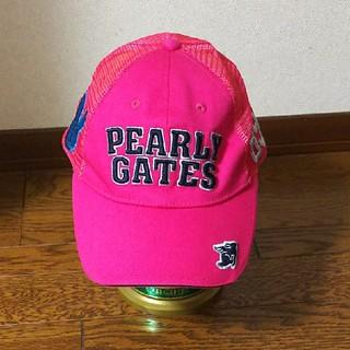 パーリーゲイツ(PEARLY GATES)のパ―リゲイツ  夏帽子(キャップ)