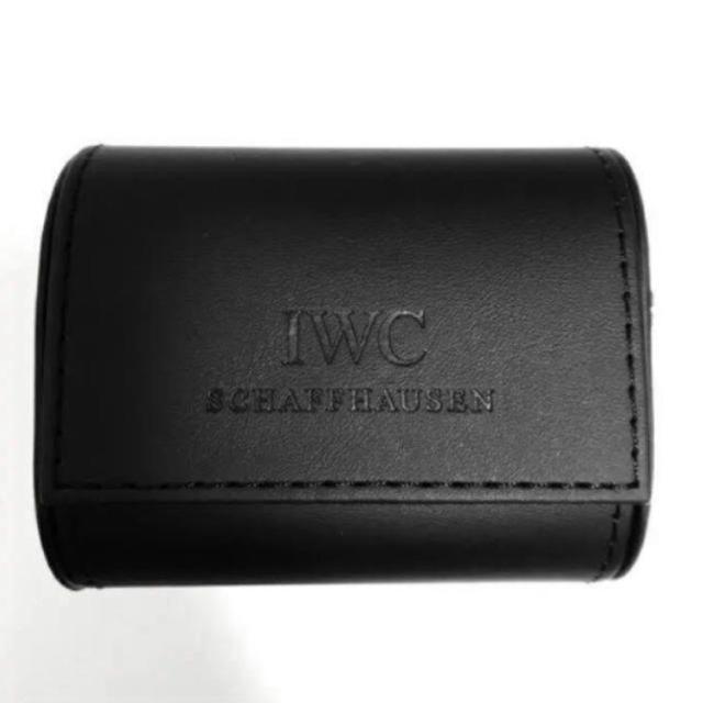 watch fbc6c 7c00a ■未使用 非売品■IWC ウォッチケース 時計ケース ■ウォッチケース③   フリマアプリ ラクマ