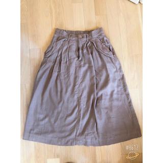 イッカ(ikka)のイッカ ロングスカート(ひざ丈スカート)