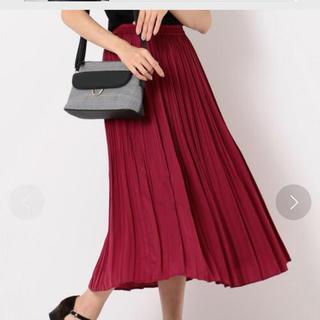 エニィスィス(anySiS)のもふ様 サテンスカート(ロングスカート)