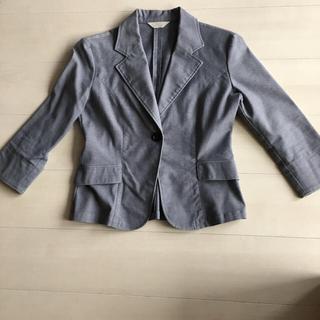 ユニクロ(UNIQLO)の七分袖ジャケットM(テーラードジャケット)