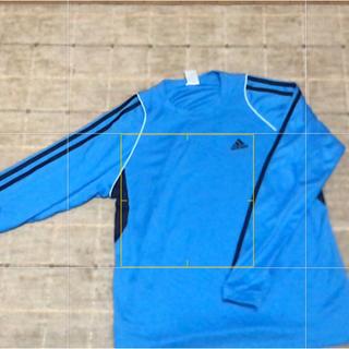 アディダス(adidas)のアディダスナイロン ロンT サイズXO 美品(Tシャツ/カットソー(七分/長袖))