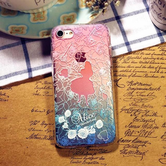 不思議の国のアリスiPhone ケース、透明❣️の通販 by なっちゃん's shop|ラクマ