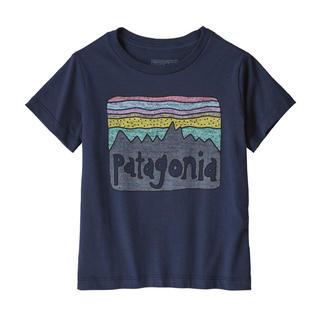 パタゴニア(patagonia)のパタゴニア 新品タグ付き キッズTシャツ 3T Navy(Tシャツ/カットソー)