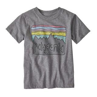 パタゴニア(patagonia)のパタゴニア 新品タグ付き キッズTシャツ 2T Grey(Tシャツ/カットソー)