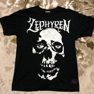 サブサエティ(Subciety)のzephyren ゼッファレン tシャツ skull スカル bones L(Tシャツ/カットソー(半袖/袖なし))