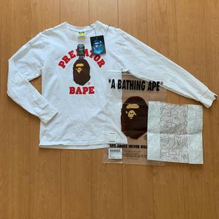 アベイシングエイプ(A BATHING APE)のアベイシングエイプ プレデターコラボ ロングTシャツ(Tシャツ/カットソー(七分/長袖))