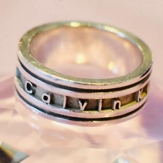 カルバンクライン(Calvin Klein)の本日限り値下げ!シルバーリング カルバンクライン(リング(指輪))