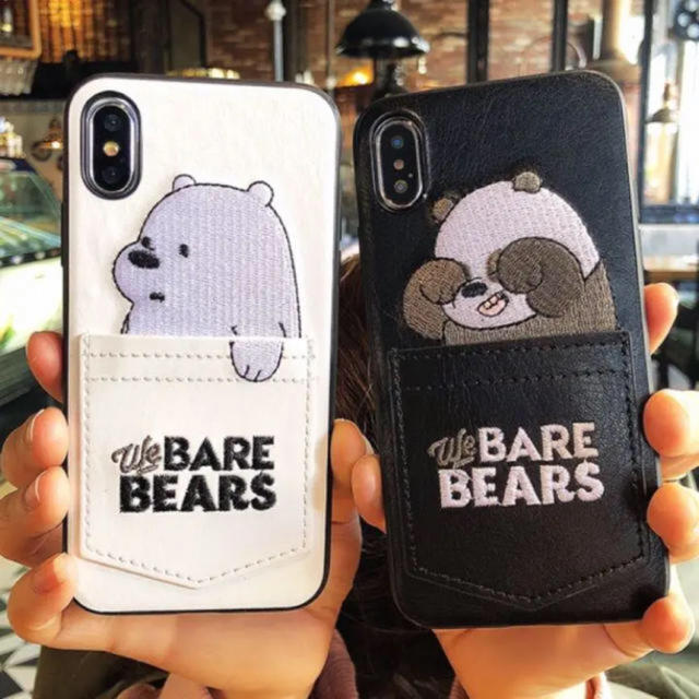ベアベアーズ  iPhoneケースの通販 by あっちん's shop|ラクマ