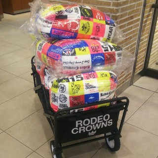 ロデオクラウンズワイドボウル(RODEO CROWNS WIDE BOWL)のお得な2個セット♪ ※激安販売につき、極めて簡素な荷造りです。(クッション)