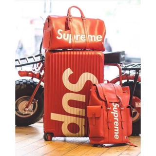 シュプリーム(Supreme)のsupreme rimowa 45L(トラベルバッグ/スーツケース)