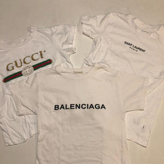 バレンシアガ(Balenciaga)のキッズ tシャツ3枚セット(Tシャツ/カットソー)