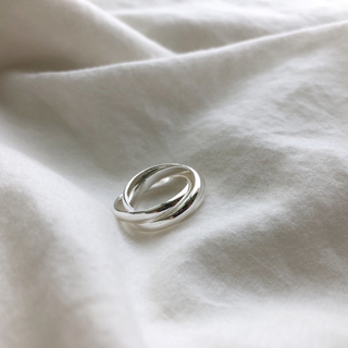 ▫️Silver925▫️Triplets ring(リング(指輪))
