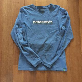 パタゴニア(patagonia)のパタゴニア patagonia ロンT メンズ  マリン ロゴT(Tシャツ/カットソー(七分/長袖))