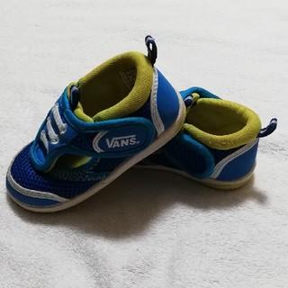 ヴァンズ(VANS)のVANS  水色×黄色のサンダル風靴 13.5cm(サンダル)