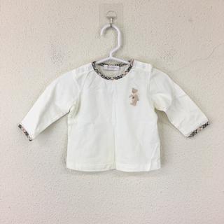 バーバリー(BURBERRY)の バーバリー BURBERRY ベビー服 ベビーシャツ サイズ70 ロンドン (シャツ/カットソー)