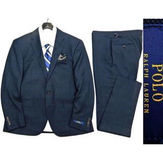 ポロラルフローレン(POLO RALPH LAUREN)の新品 ポロ ラルフローレン  ウィンドペン スーツ 40S 定価12.4万(セットアップ)