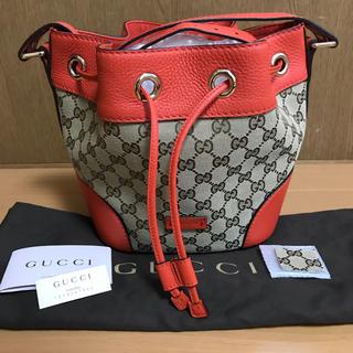 15b2cc251573 グッチ(Gucci)のGUCCI ショルダーバッグ 巾着 斜めがけ GGスプリーム(ショルダーバッグ