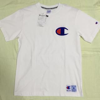 チャンピオン(Champion)のチャンピオン 刺繍デカロゴTシャツ XL(Tシャツ/カットソー(半袖/袖なし))