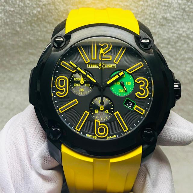 グッチ コピー N 、 美品 STELL CRAFT クォーツ メンズ腕時計の通販 by Y1102's shop|ラクマ