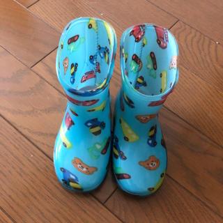 ミキハウス(mikihouse)のミキハウス 長靴(レインシューズ)13センチ ほぼ未使用(長靴/レインシューズ)