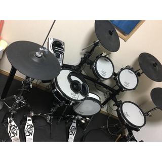 Roland - ローランド 電子ドラム TD 15KV-S 椅子+ツインペダル
