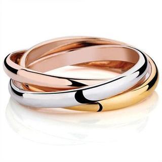 リング ローズ シルバー クラシック フルサイズ 3連 指輪(リング(指輪))