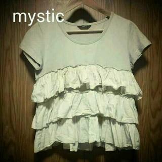 ミスティック(mystic)のmystic カットソー(ひざ丈ワンピース)