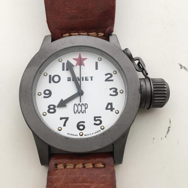 ソ連の腕時計 アナログ メンズorレディースの通販 by 秋風's shop|ラクマ