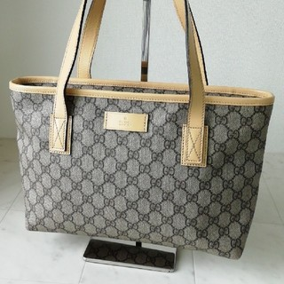 c14b4c0e9c2b グッチ トートバッグ(グレー/灰色系)の通販 69点 | Gucciを買うならラクマ