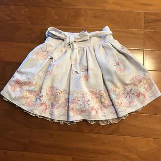リズリサ(LIZ LISA)のLIZLISA ベア柄 スカート(ミニスカート)
