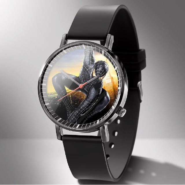 ジン コピー 7750搭載 / 新品 スパイダーマン 腕時計 ブラックスパイダーマン 電池交換可能 38mm の通販 by M★B craft|ラクマ
