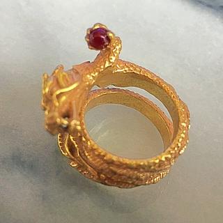 ヴィヴィアンタム(VIVIENNE TAM)のヴィヴィアンタムスネークリング(リング(指輪))