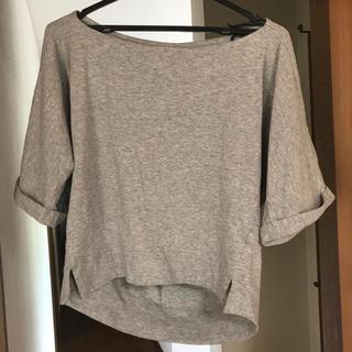 ミスティック(mystic)のオフショルトップス(Tシャツ(長袖/七分))