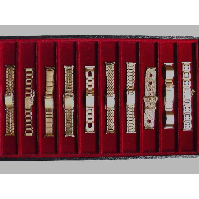 【未使用】腕時計 ベルト バンド 三つ折れタイプ 2の通販 by mami's shop|ラクマ