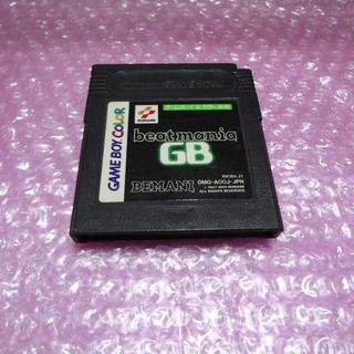 ゲームボーイ(ゲームボーイ)のGB ビートマニア⇒送料無料GB(家庭用ゲームソフト)